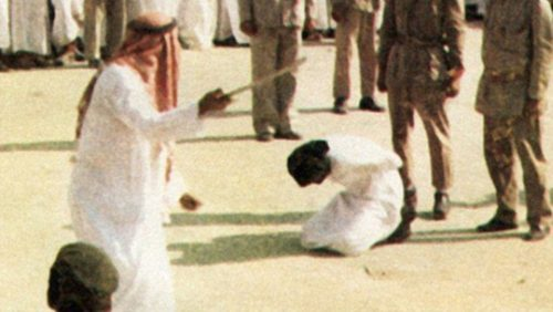 beheading, gay execution, Saudi Arabia