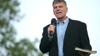 Franklin Graham just cited the Leviticus 'death to gays' verse when discussing Buttigieg