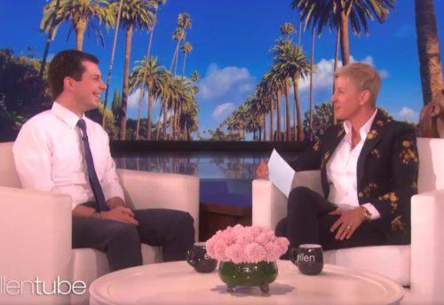 Pete Buttigieg on Ellen's show