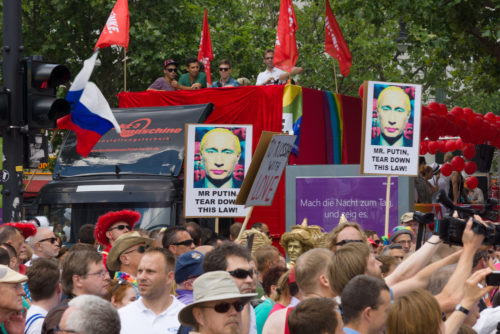 Russia, LGBTQ, protest, discrimination, transgender, workplace protections