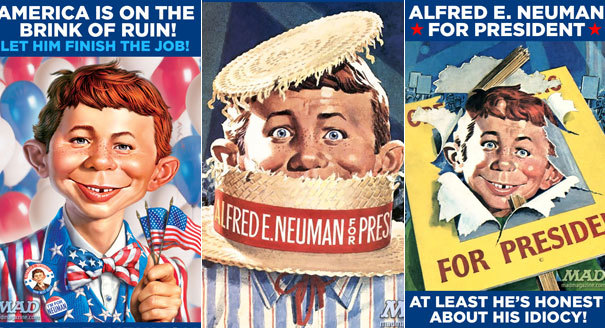 pete buttigieg, alfred e neuman, Trump, nicknames