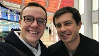 """Chasten & Pete Buttigieg settle into """"peternity"""" with the gayest dad joke ever"""