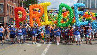 JUNE 27, 2017: Stonewall Columbus Pride Festival in Columbus, Ohio.