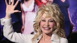 "Dolly Parton arriving to ""Joyful Noise"" Los Angeles Premeire on January 19, 2012 in Hollywood, CA"