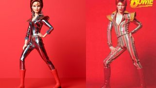 Barbie releases androgynous David Bowie doll