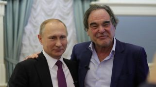 """Director Oliver Stone tells Putin that Russia's anti-gay law is """"sensible"""""""