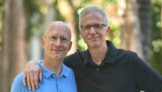 Brent Hartinger and Michael Jensen are digital nomads
