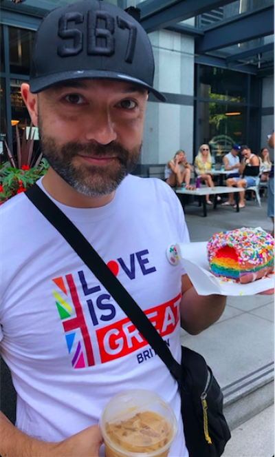 Joshua Harris at Pride