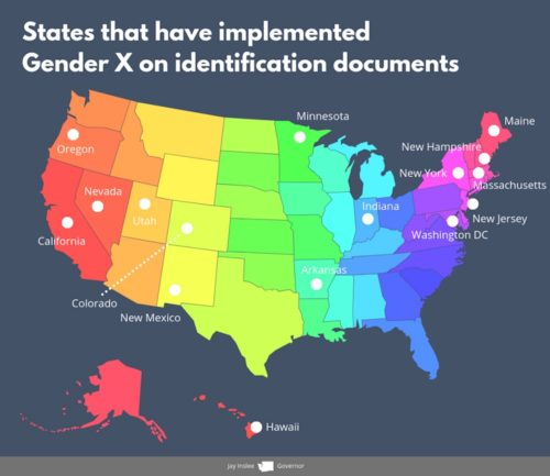 transgender, non-binary, licenses, government ID, infographic