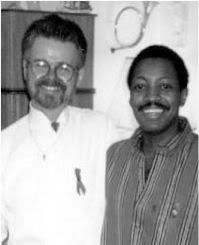 Eugene Clark and his partner Larry Courtney