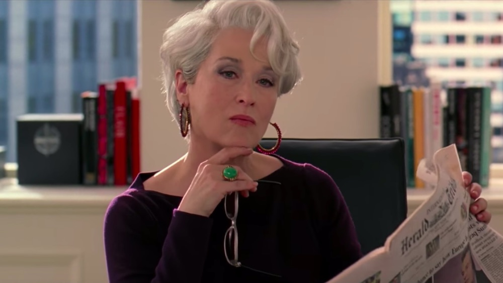 Miranda Priestly, Meryl Streep, The Devil Wears Prada, Elton John, musical, film, Chicago