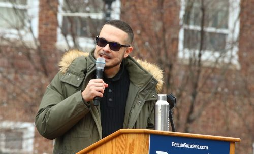 A gay BLM organizer is embroiled in a nasty online feud with Shaun King