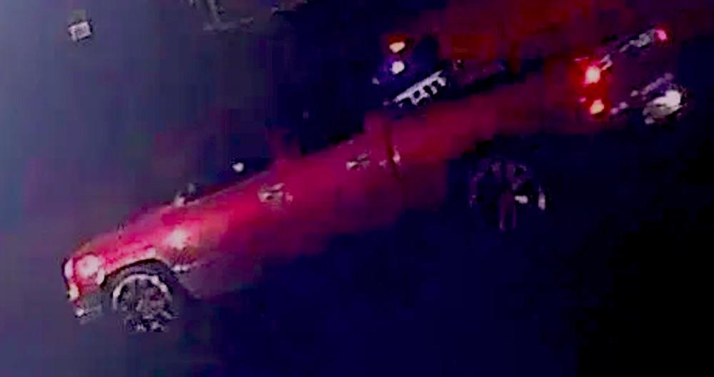 Dallas, police, transgender shooting, truck, red, Chevrolet