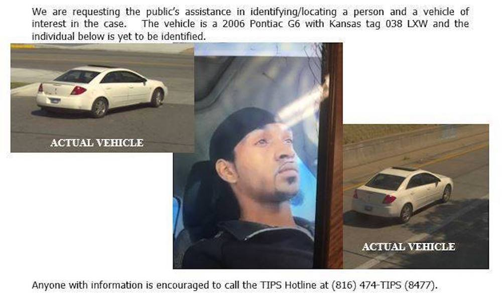 Ja'leyah-Jamar, Kansas City KS, Kansas, transgender, murder, suspect, person of interest