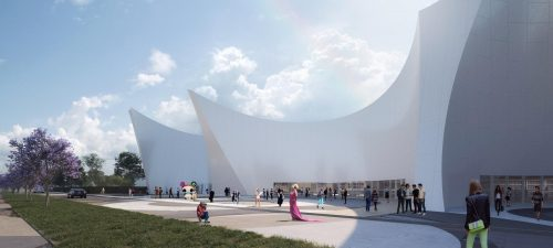 A concept for a memorial of the Pulse nightclub mass shooting by heneghan peng architects