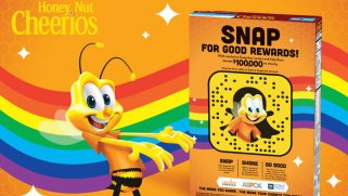 Honey Nut Cheerios partners with HRC Foundation, Snapchat to support equality