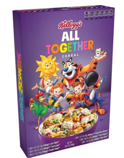 The box of All Together Cereal