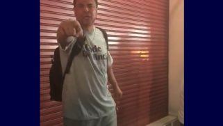 American tourist in Thailand caught in unhinged racist & homophobic tirade