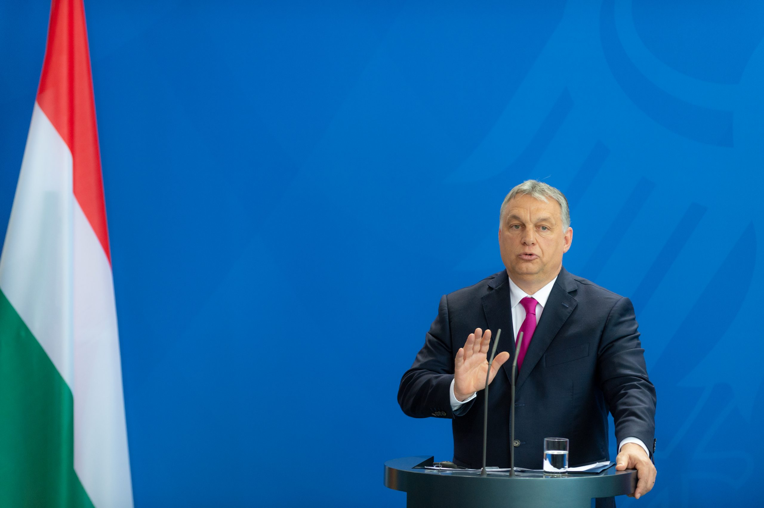 European leaders confront Hungarian PM over new anti-LGBTQ law: Repeal it or leave the EU