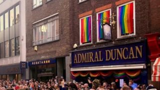 "Bar receives a weird postcard accusing them of turning street ""gay"""