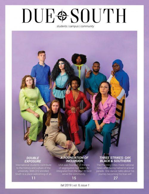 Due South Magazine cover