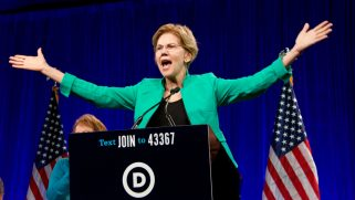 Elizabeth Warren promises to overturn Trump's trans military ban on first day in office