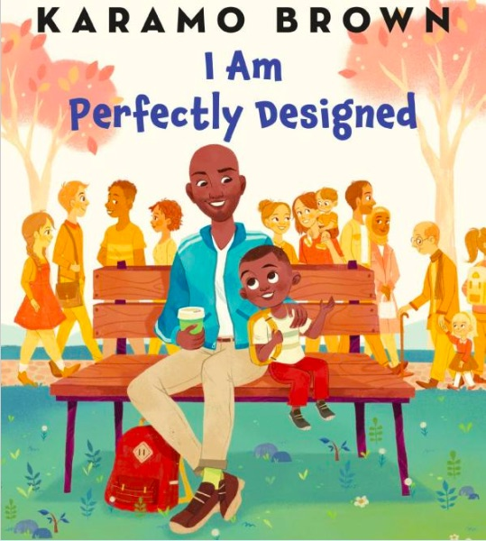 The cover of Karamo Brown's childrens book,