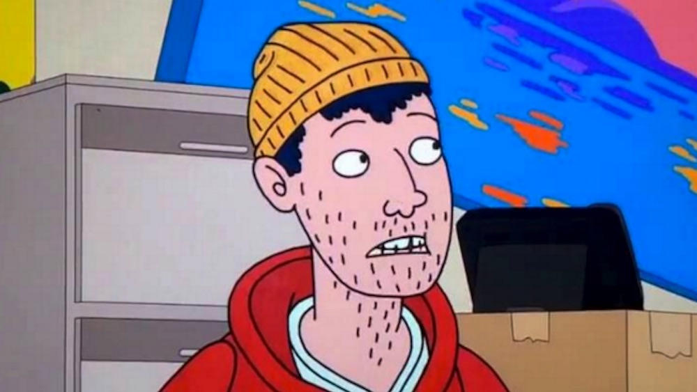 Todd Chavez is a scruff asexual character on Netflix's dramatic cartoon series BoJack Horseman