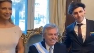 Gay son of Argentina's new president's wore a rainbow flag for his dad's inauguration