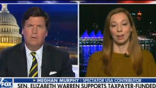 "Tucker Carlson & guest say transgender equality is a ""rich people"" issue"