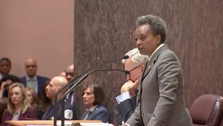 Chicago's lesbian mayor Lori Lightfoot rebukes city council for anti-gay remarks