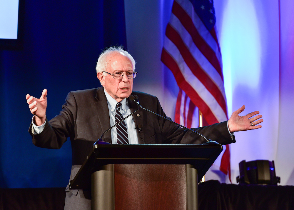 Bernie Sanders participated in the South Carolina Presidential Debate