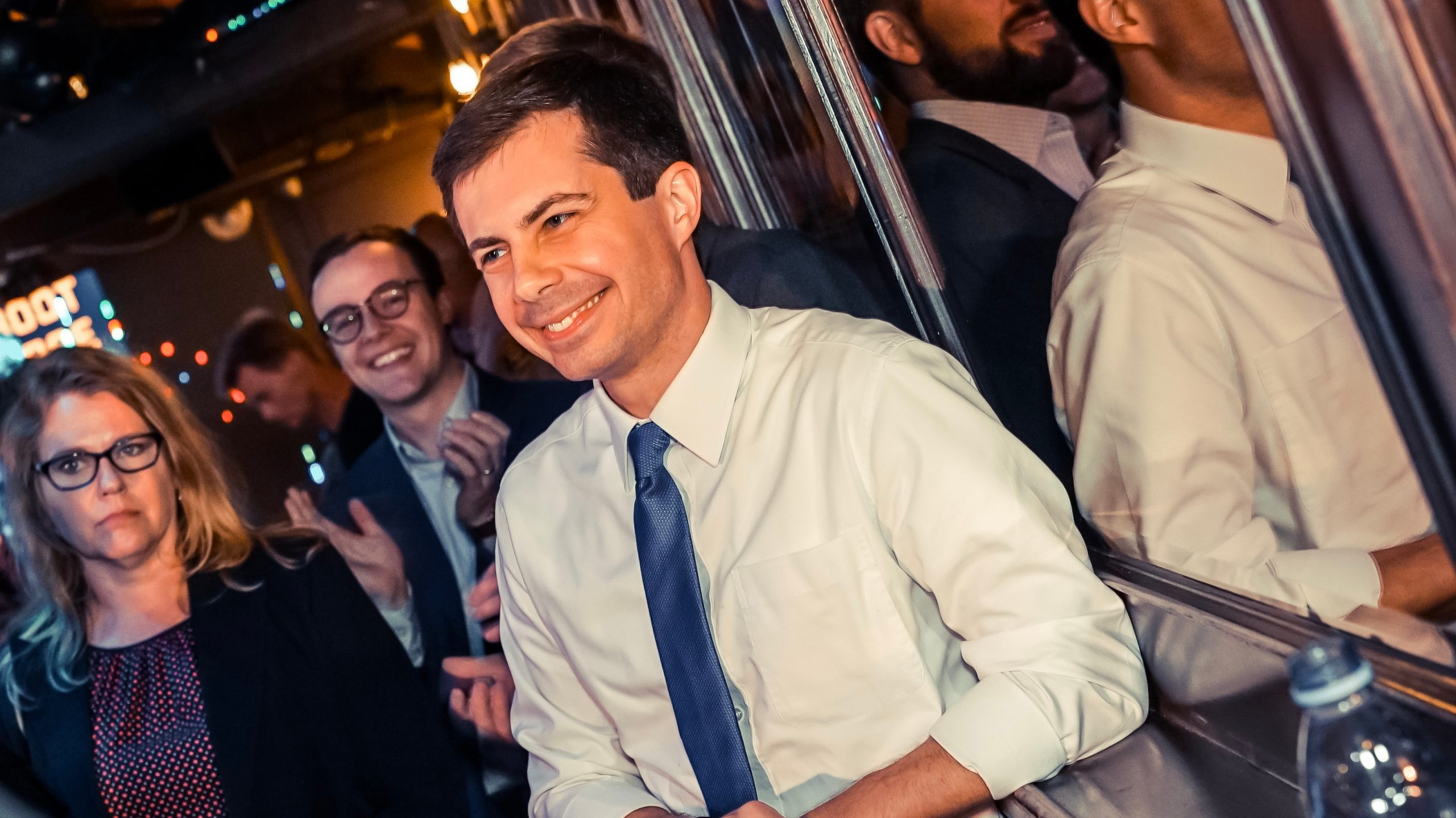 Mayor Pete Buttigieg At The Abbey in West Hollywood May 2019