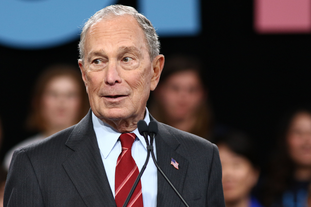 Mike Bloomberg participated in the South Carolina Presidential Debate