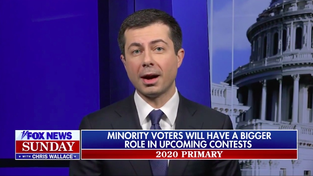Pete Buttigieg talk on Fox News Sunday with Chris Matthews