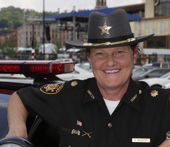 Charmaine McGuffey, candidate for Hamilton County Sheriff