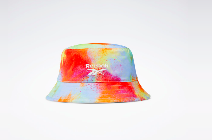 A photo of Reebok's new classic Pride reversible hat, as part of its new All Types of Love Pride campaign.