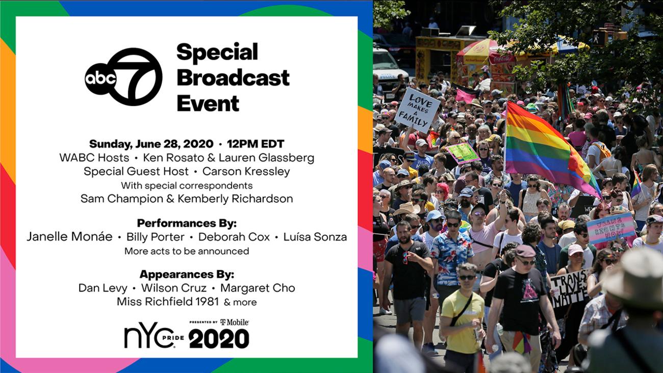 WABC 7, NYC Pride 2020
