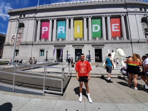 Matthew Ayon in San Francisco, June 29, 2019.