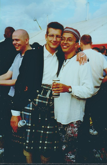 Julian Hair (left) and David Warren (right), EuroPride 1992