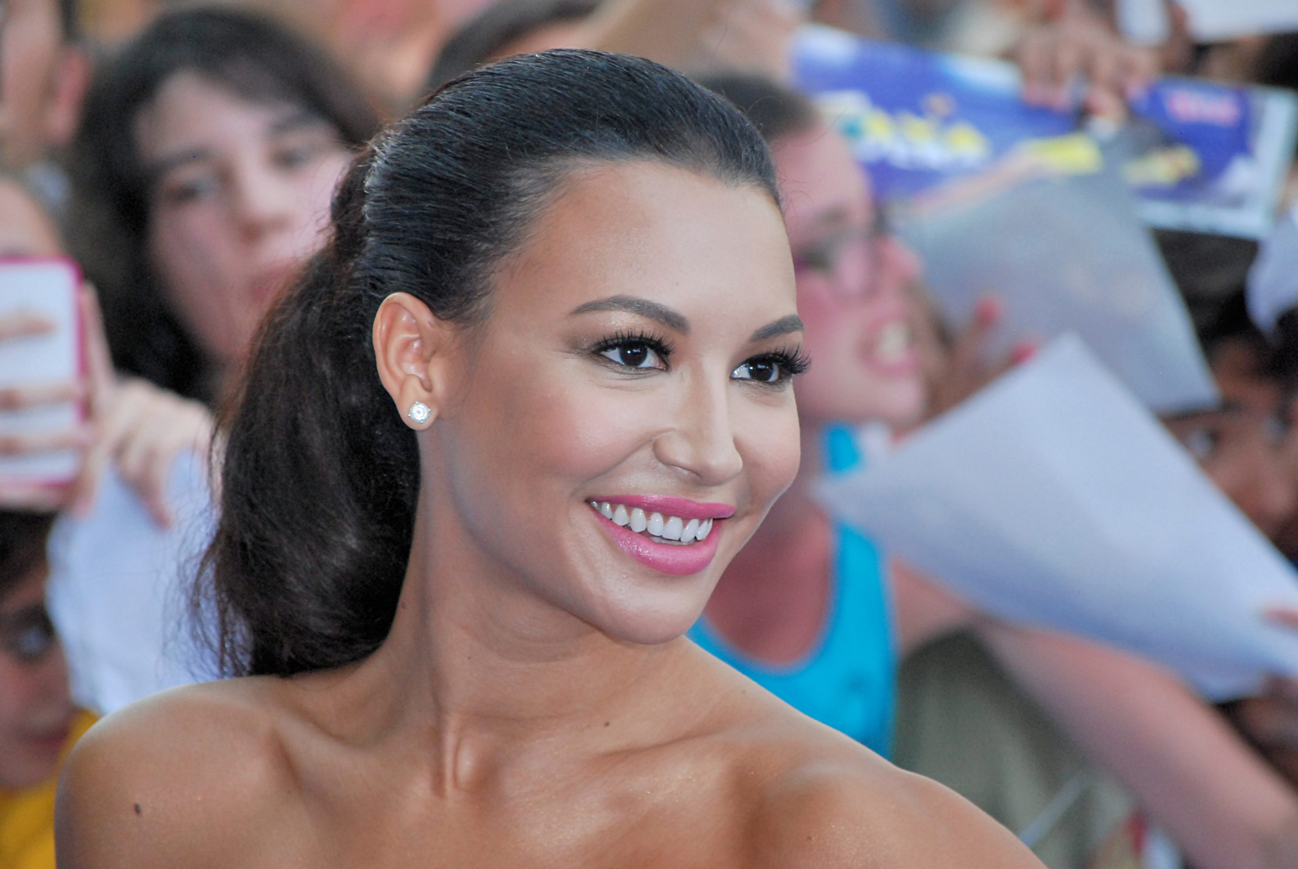 July 24, 2013 : Naya Rivera at Giffoni Film Festival