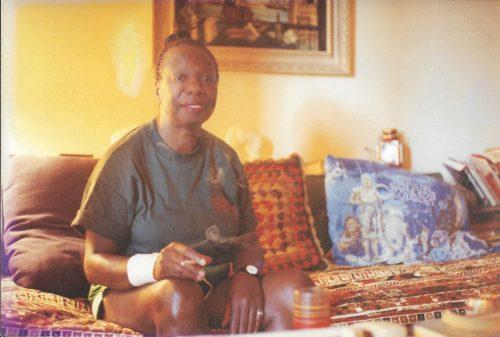 Nina Simone at home in Los Angeles, 1992.