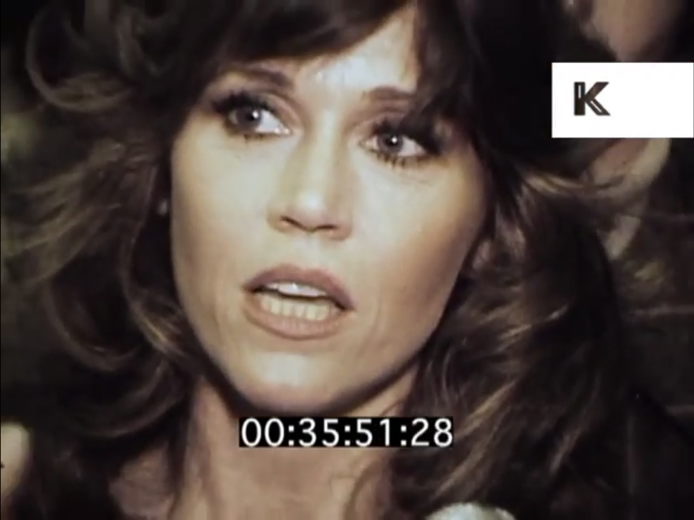 Jane Fonda, speaking to an interviewer in a video recorded in 1979.