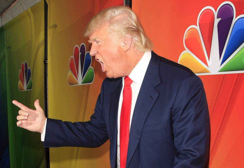 Donald Trump at NBC's 2015 Winter TCA Press Tour