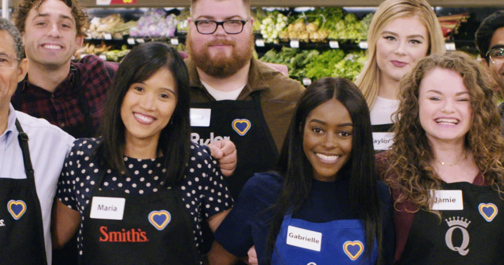 """Employees with the """"rainbow"""" hearts"""