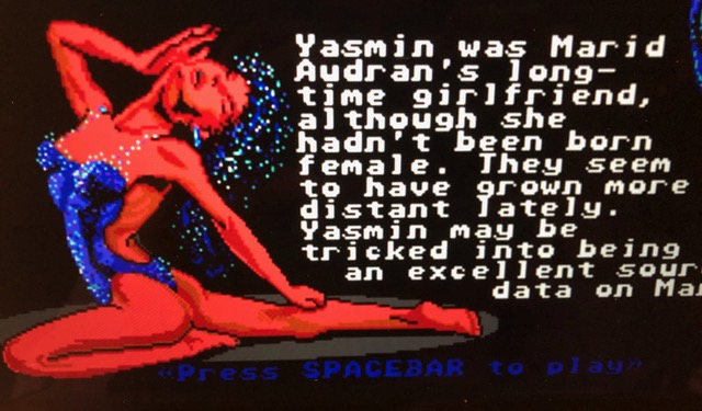"""Yasmin in """"Circuits Edge"""" (1989)"""
