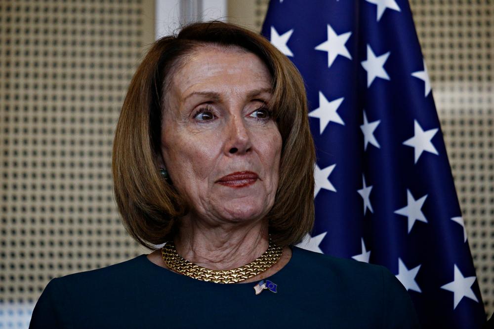 Speaker of the United States House of Representatives Nancy Pelosi