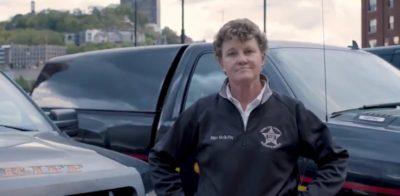 Charmaine McGuffey lesbian Ohio Sheriff campaign ad