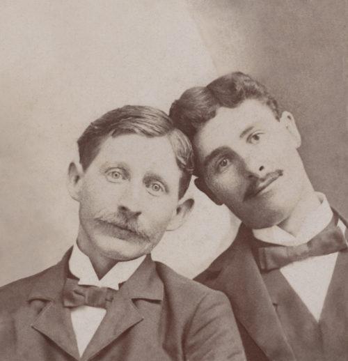 The middle portrait