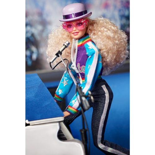 The Elton John-inspired Barbie doll is a hot collector's item this year